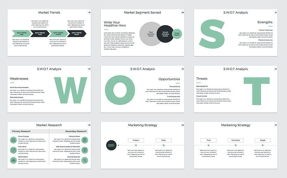 Marketing Plan Powerpoint Template Marketing Plan Powerpoint Template