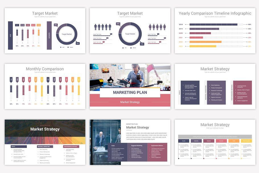 Marketing Plan Powerpoint Template Prehensive Powerpoint Bundle