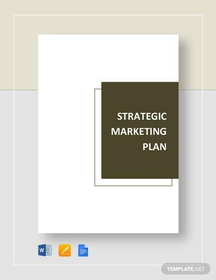 Marketing Plan Template Google Docs Amp Pinterest In Action In 2020