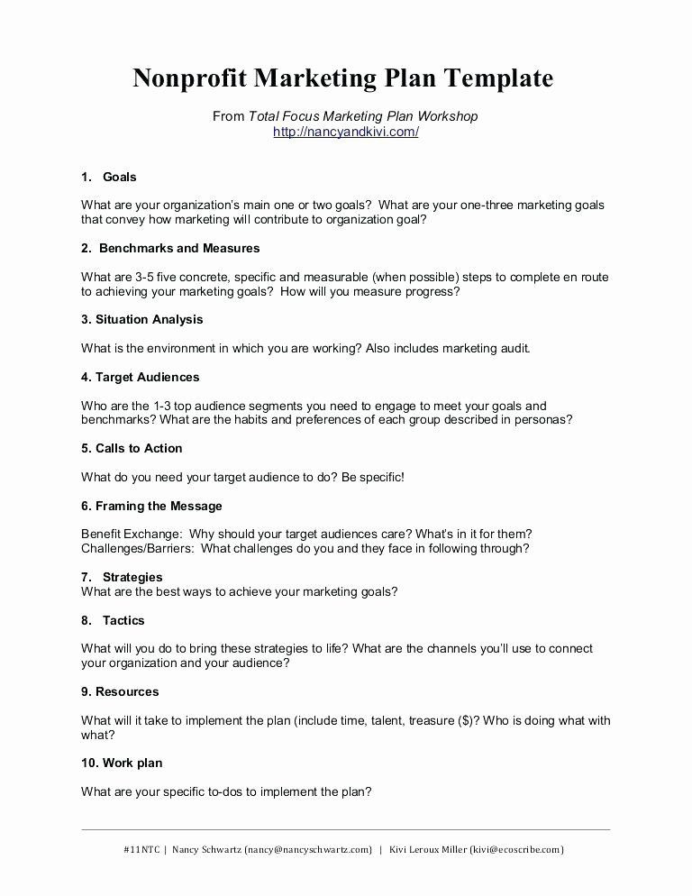 Marketing Plan Template Word Marketing Proposal Template Word Inspirational social Media