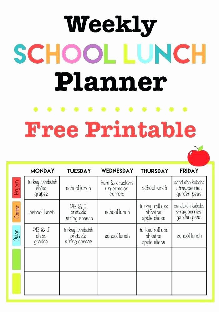 Meal Planner Template Google Docs Meal Plan Template Google Docs Beautiful Restaurant Menu