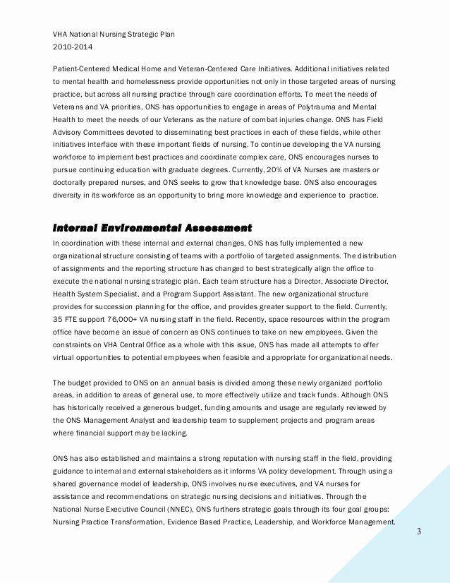 Medical Marijuana Business Plan Template Nursing Strategic Plan Examples Awesome Vha National Nursing