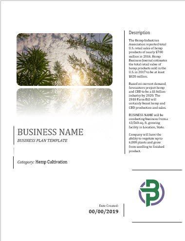 Medical Marijuana Business Plan Template Rohanrj