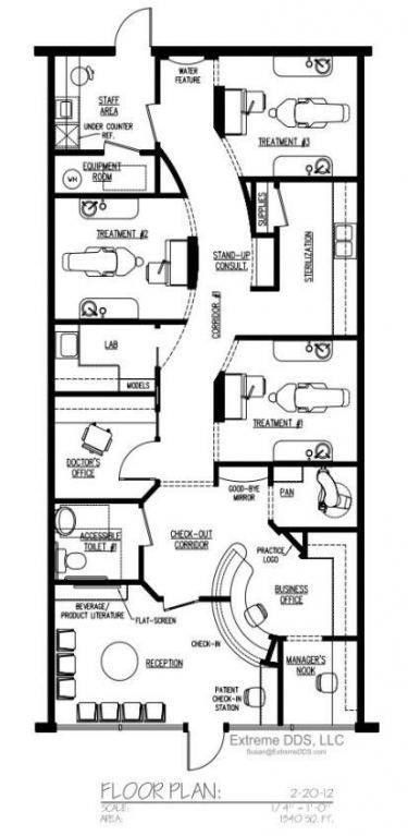 Medical Office Floor Plan Template 19 Ideas Medical Fice Design Layout Floor Plans for 2019