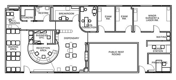 Medical Office Floor Plan Template Doctor S Office Layout Plans