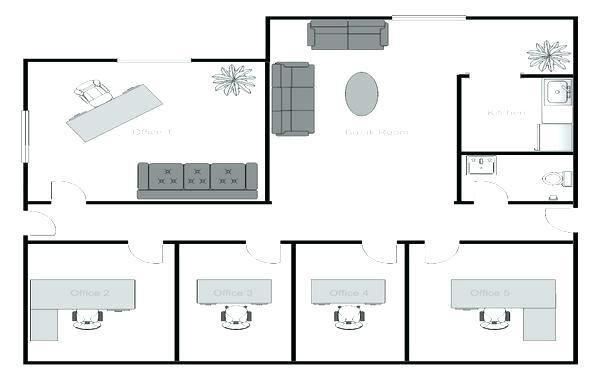 Medical Office Floor Plan Template Fice Floor Plan Ideas
