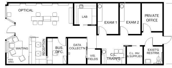 Medical Office Floor Plan Template Floor Plan Design
