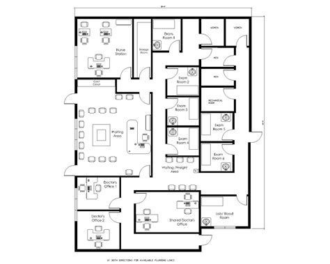 Medical Office Floor Plan Template Medical Office Design Layout Yahoo Search Results
