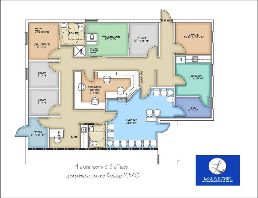 Medical Office Floor Plan Template Medical Office Floor Plans Google Search