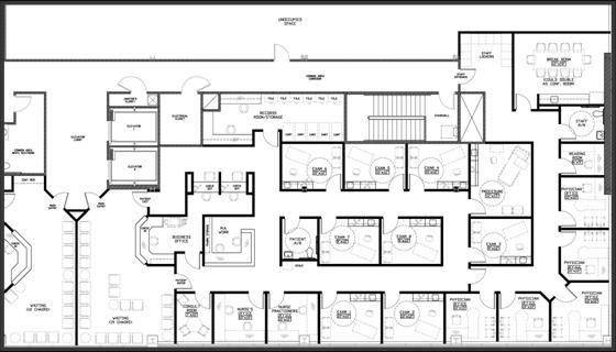 Medical Office Floor Plan Template Medical Pavilion south Class A Medical Fice Building In