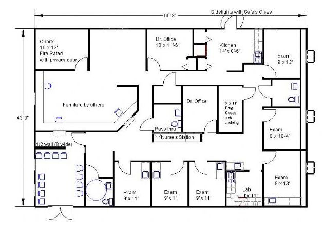 Medical Office Floor Plan Template Modular Buildings and Mobile Fices