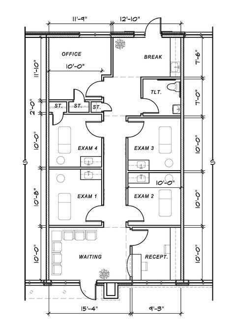 Medical Office Floor Plan Template Trendy Medical Fice Design Layout Floor Plans Ideas