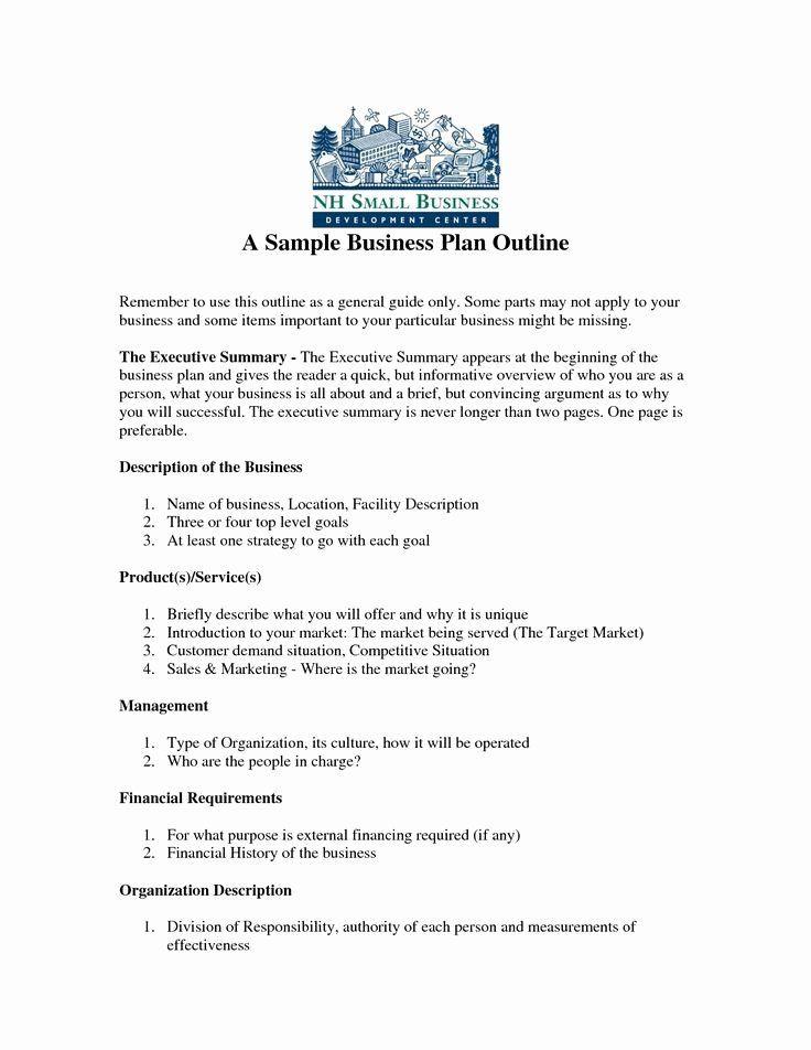 Mini Business Plan Template Mini Business Plan Template Awesome Sample Business Plan