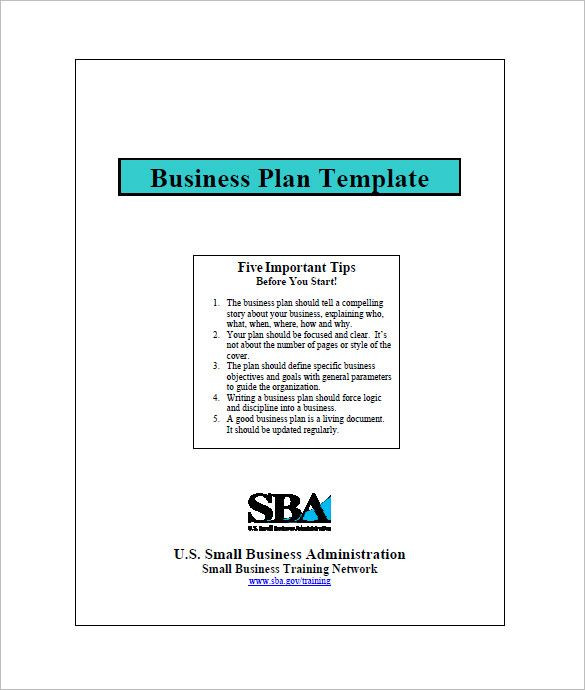 Mini Business Plan Template Small Business Plan Templates