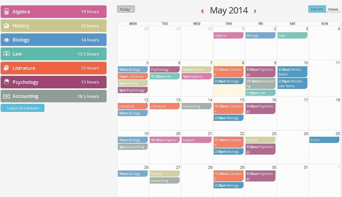 Nclex Study Plan Template Nclex Study Plan Template Study Calendar Deute In 2020