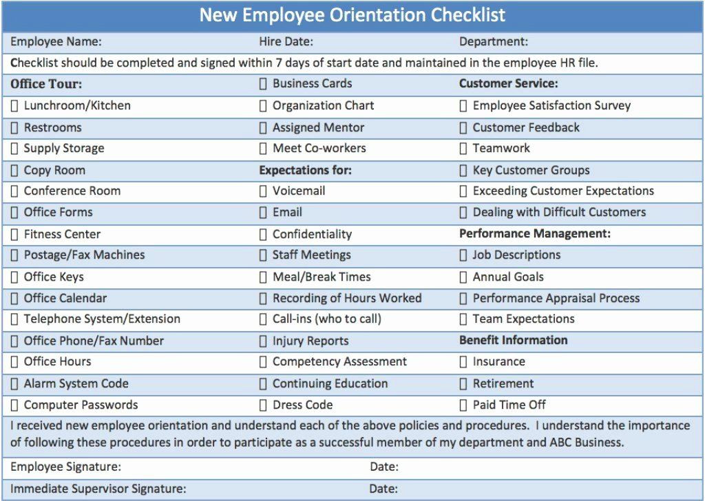New Hire Training Plan Template New Employee Training Plan Template Elegant New Employee