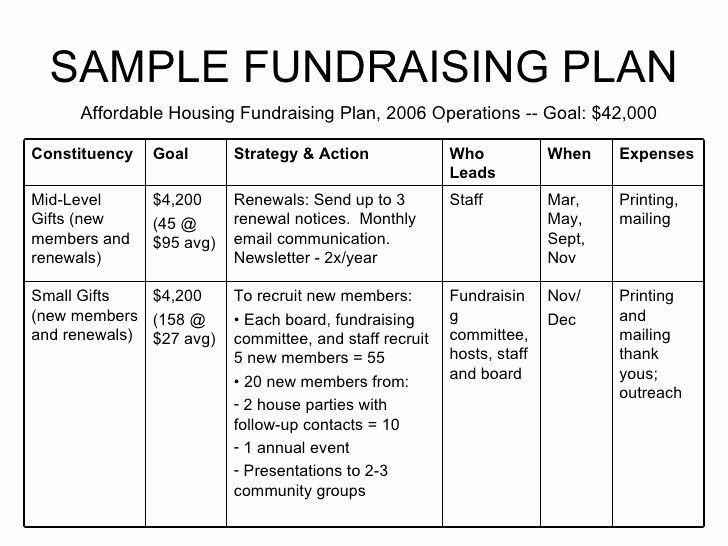 Non Profit event Planning Template Fundraising event Planning Template Fresh Non Profit Example