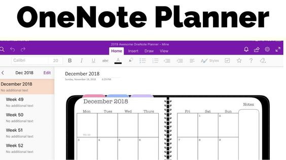 Onenote Daily Planner Template Enote Planner the Awesome Planner for Microsoft Enote