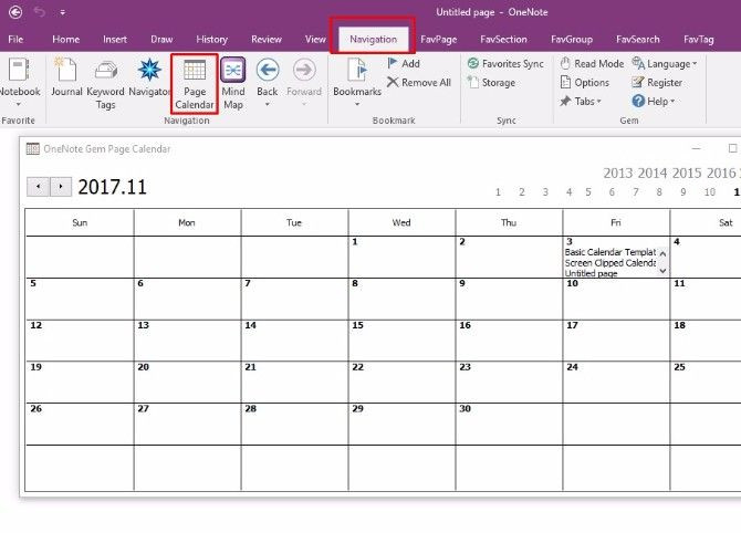 Onenote Daily Planner Template How to Create A Enote Calendar Template