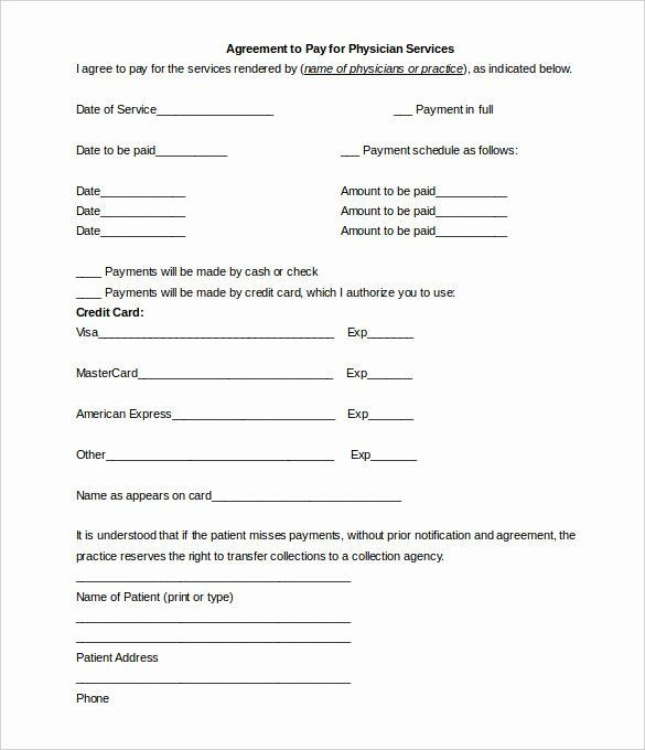 Payment Plan Agreement Template Word Installment Payment Plan Agreement Template Best Payment