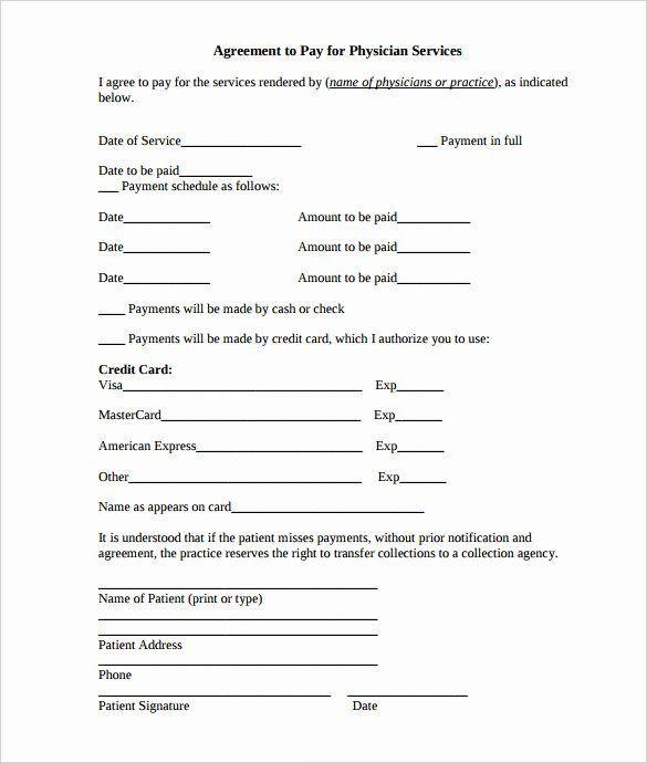 Payment Plan Agreement Template Word Payment Plan Template Free Inspirational Payment Plan