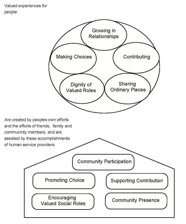 Person Centered Planning Template the Five Valued Experiences