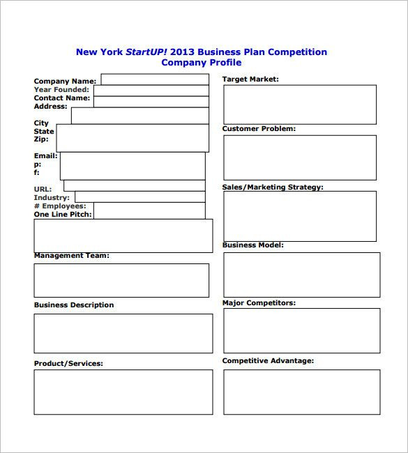 Personal Business Plan Template 6 Free Simple Business Plan Template