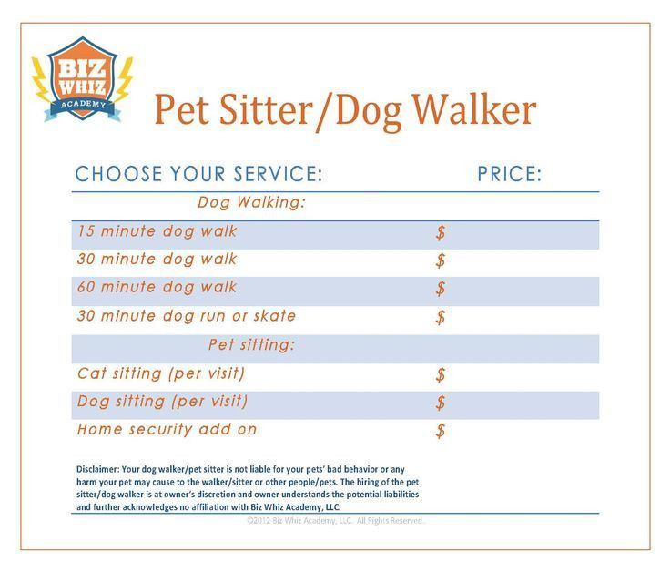 Pet Sitting Business Plan Template Pet Sitting Business Plan Template Lovely 12 Best
