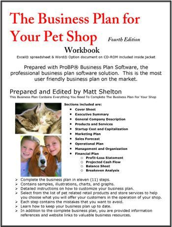 Pet Sitting Business Plan Template the Business Plan for Your Pet Shop Daycarebusinessplan