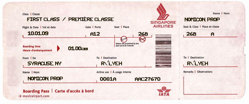 Plane Ticket Template Pdf Plane Ticket Template Pdf Beautiful Airline Ticket Template