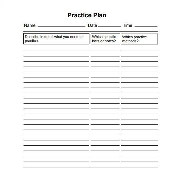 Practice Plan Template Basketball Pin On Action Plan Template Printable Design