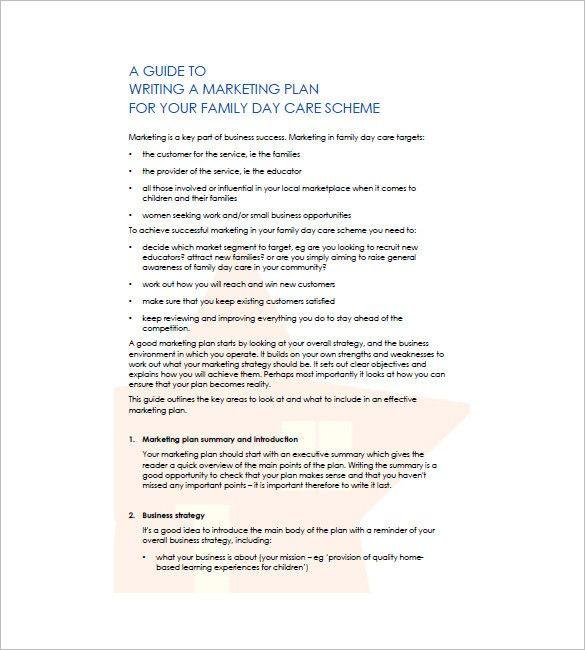 Preschool Business Plan Template Preschool Business Plan Template Beautiful Daycare Business