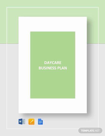 Preschool Business Plan Template Preschool Business Plan Template Inspirational Daycare