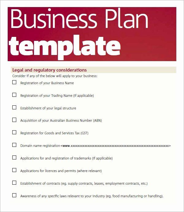 Printable Business Plan Template Free Printable Business Plan Template Fresh Free 32 Sample