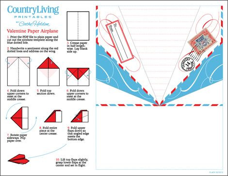 Printable Paper Airplane Template Be Different Act normal Paper Airplane Valentine