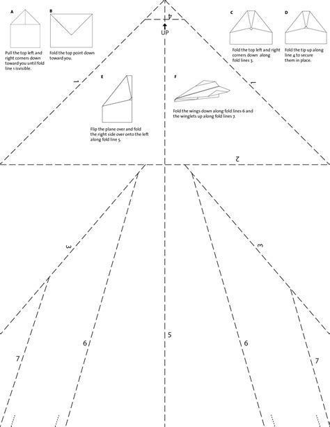 Printable Paper Airplane Template Image Result for Basic Paper Airplane Template