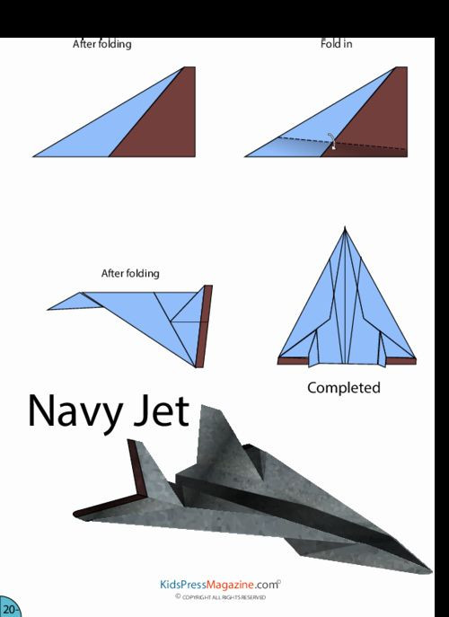 Printable Paper Airplane Template Printable Paper Airplane Template New Easy top 10 Paper