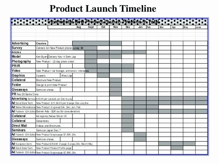Product Launch Plan Template Free Product Launch Plan Template Elegant New Product Launch Plan