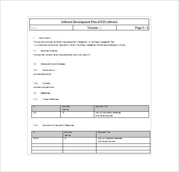 Project Plan Template Word Pin On