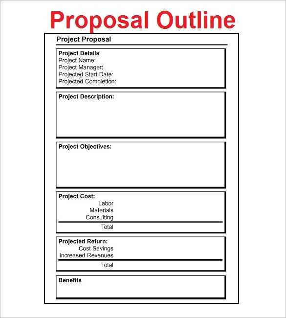 Project Plan Template Word Pin On organized