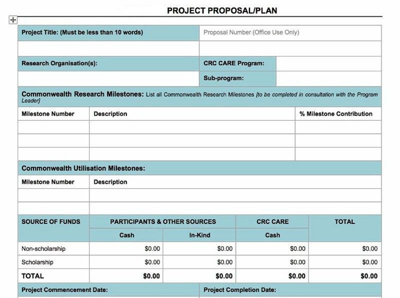 Project Plan Template Word Project Proposal Plan Template In Word Project Management