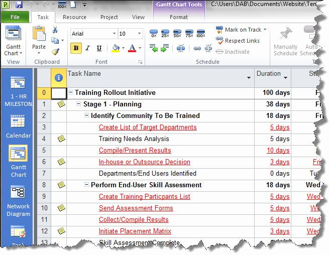 Project Rollout Plan Template Roll Out Plan Template Lovely Project Management Practice
