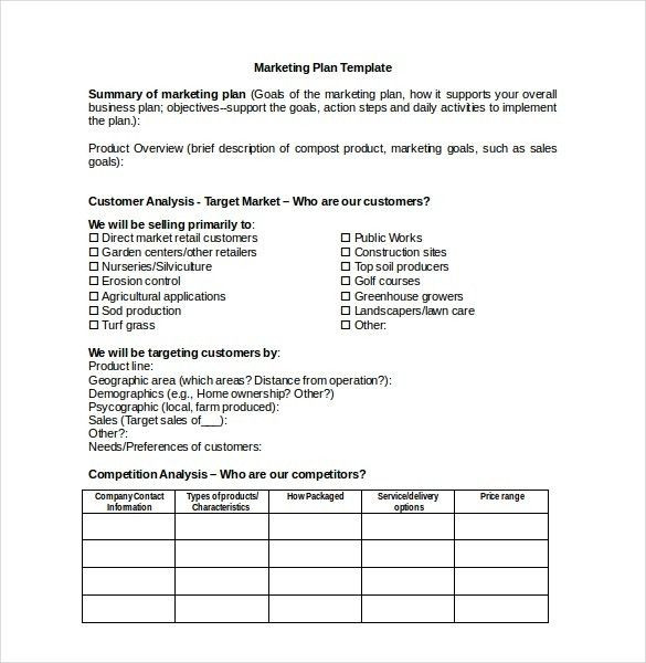 Property Management Marketing Plan Template Lawn Care Business Plan Template Elegant Marketing Plan Lawn