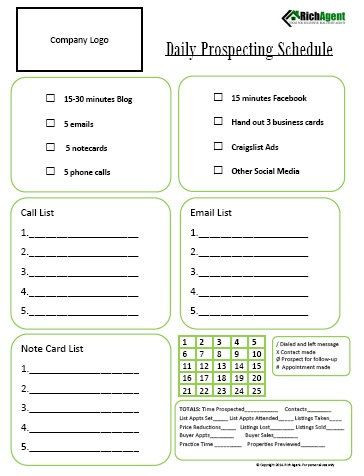 Real Estate Daily Planner Template Pin On Sell that House