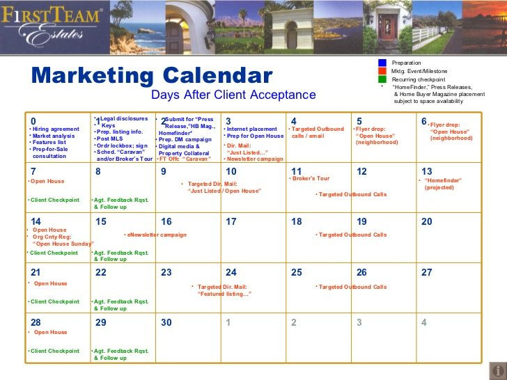 Real Estate Marketing Plan Template Real Estate Marketing Plan Template