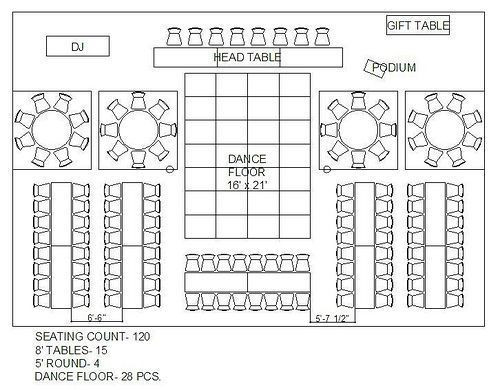 Rectangle Table Seating Plan Template attractive Wedding Floor Plan Template 1000 Ideas About