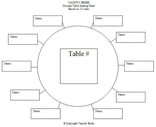 Rectangle Table Seating Plan Template Pin On 100 Printable Chart Template Example