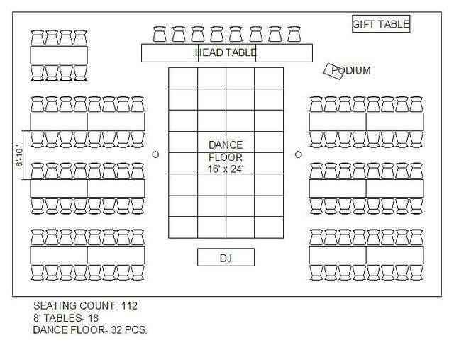 Rectangle Table Seating Plan Template Rectangular Tables Layout