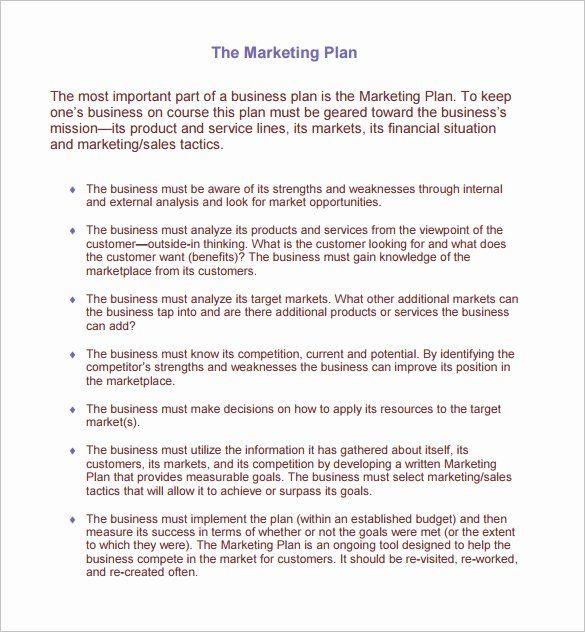 Restaurant Business Plan Template Pdf Restaurant Marketing Plan Pdf Elegant 13 Restaurant