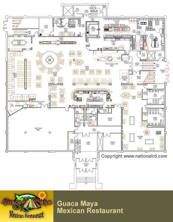 Restaurant Floor Plan Template Designing A Restaurant Floor Plan Kitchen Appliances